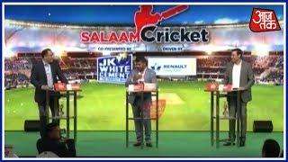 Mohammad Azharuddin Backs Younis Khan's Stand On Regular India-Pakistan Cricket| Salaam Cricket 2018 - AAJTAKTV