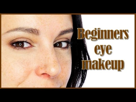 Beginners makeup tutorial and parts of the eye | Silvia Quiros