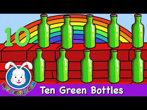 Ten Green Bottles - Nursery Rhyme - MyVoxSongs