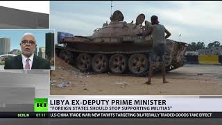 Tripoli battles leave 115 dead as clashes between rival groups continue since late August - RUSSIATODAY