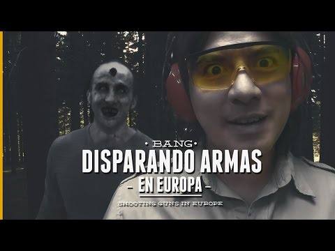DISPARANDO ARMAS EN EUROPA -  Apocalipsis Zombie