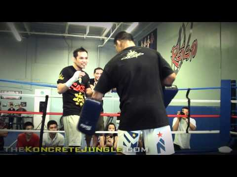 NONITO 'MMA' DONAIRE training with UFC star Mark Munoz (TRUE HD)