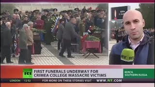Crimea school massacre: How the killer carried out lethal attack - RUSSIATODAY