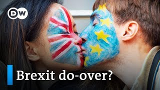 Brexit: Petition to remain in EU scores millions of signatures | DW News - DEUTSCHEWELLEENGLISH