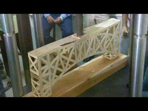 Puente de palitos de madera OlimpiAneic