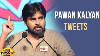Pawan Kalyan Tweets About Safeguarding His Mother's Honor | Mango News - MANGONEWS