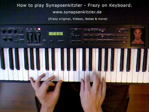 Video screenshot How to play Frazy on piano by Synapsenkitzler