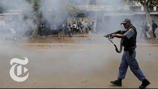 Anti-Immigrant Protests in Pretoria | The New York Times - THENEWYORKTIMES
