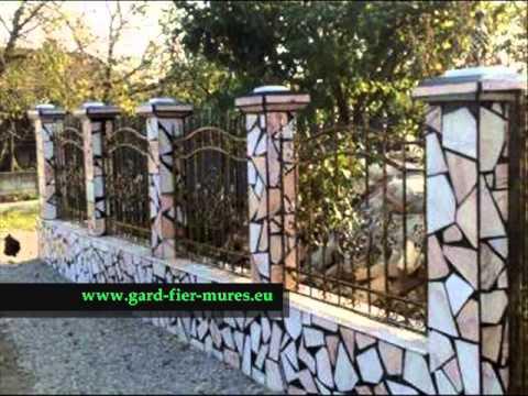 gard fier Mures , gard fier , gard fier prefabricat , poarta fier antichizat