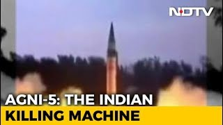Agni 5 Missile That Can Strike China Set To Enter India's Arsenal - NDTV