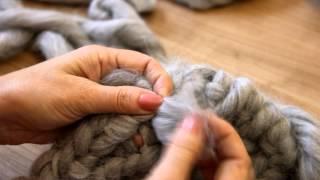 Вязание из толстой пряжи | Вяжем жакет