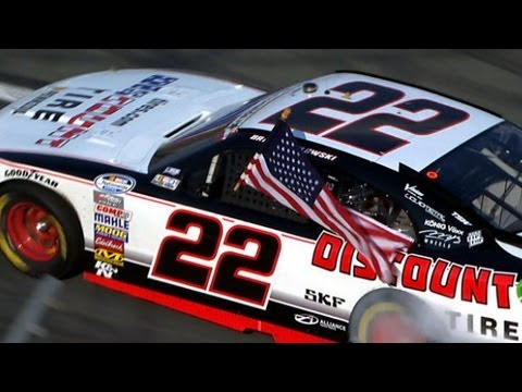 Brad Keselowski stays out on last stop, win at Charlotte Motor Speedway