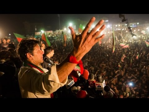 Imran Khan holds London-based rival responsible for Pakistani politician's murder