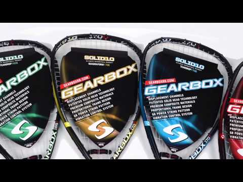 Gearbox Racquetball Racquets on sale at Pacific Sports Warehouse