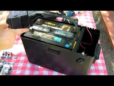 How to Build A Power Pack - DIY Survival Prepper - Solar Panel Installation