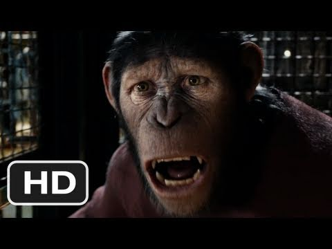 Rise of the Planet of the Apes - HD Trailer 2 - (2011)