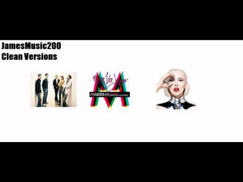 Maroon 5 - Moves Like Jagger ft. Christina Aguilera (Clean)