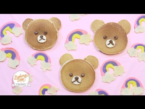 DESAYUNO KAWAII (PANCAKES RELLENOS DE NUTELLA) - BAKING DAY CHANNEL