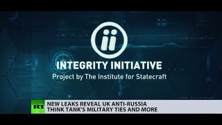Integrity Initiative: 'Anti-Russia crusade' funded by UK govt revealed - RUSSIATODAY