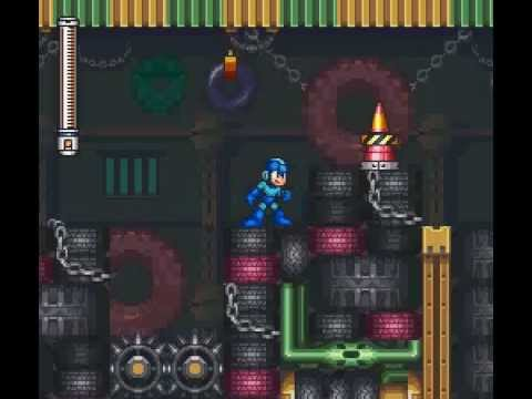 Mega Man 7, Turbo Man Perfect Run (Buster Only)
