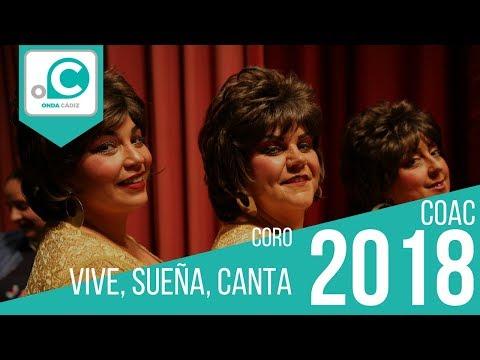 Sesión de Cuartos de final, la agrupación Vive, sueña, canta actúa hoy en la modalidad de Coros.