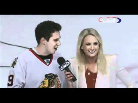 Fan Flirts With Reporter Live Awkward Moment Original 