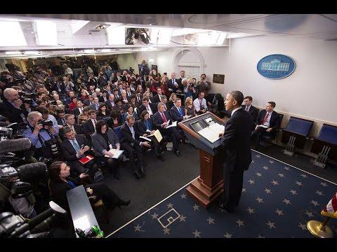 Konferencja prasowa Baracka Obamy.
