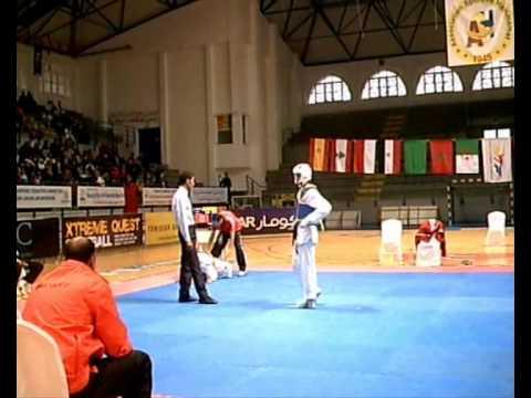 Tunisie//Coupe Mediterraneenne De Taekwondo 2010** Marocco-Egypt (Fille).wmv