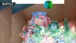 Mice eat cash in Kazakh ATM...How much did lunch cost? - RUSSIATODAY