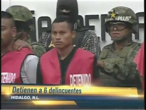 6 Zetas detenidos en Hidalgo NL