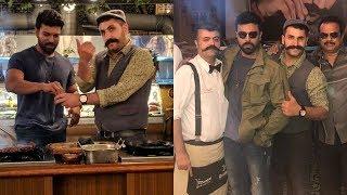 Hero Ram Charan Latest Clicks With RC12 Movie Team | Tollywood Updates - RAJSHRITELUGU