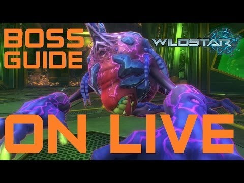 Wildstar 20 Man Boss Guide: Warrior Tanking - Experiment X-89 Kill on Live Servers (Experiment X-89)
