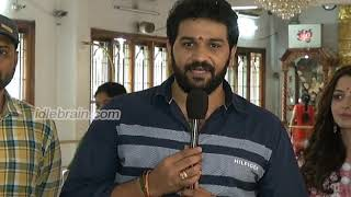 Aadi Saikumar and Vedhika Telugu-Tamil Bilingual film Launch - idlebrain.com - IDLEBRAINLIVE