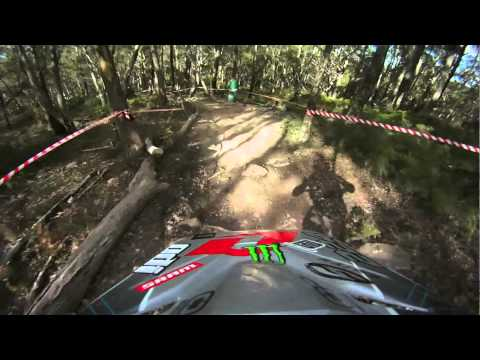 Rick Boyer - Tasmania National #1 DH Elite Winning Race run - brought to you by GoPro