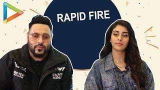 BLOCKBUSTER - Badshah & Warina Hussain's rapid fire is a must watch! - HUNGAMA