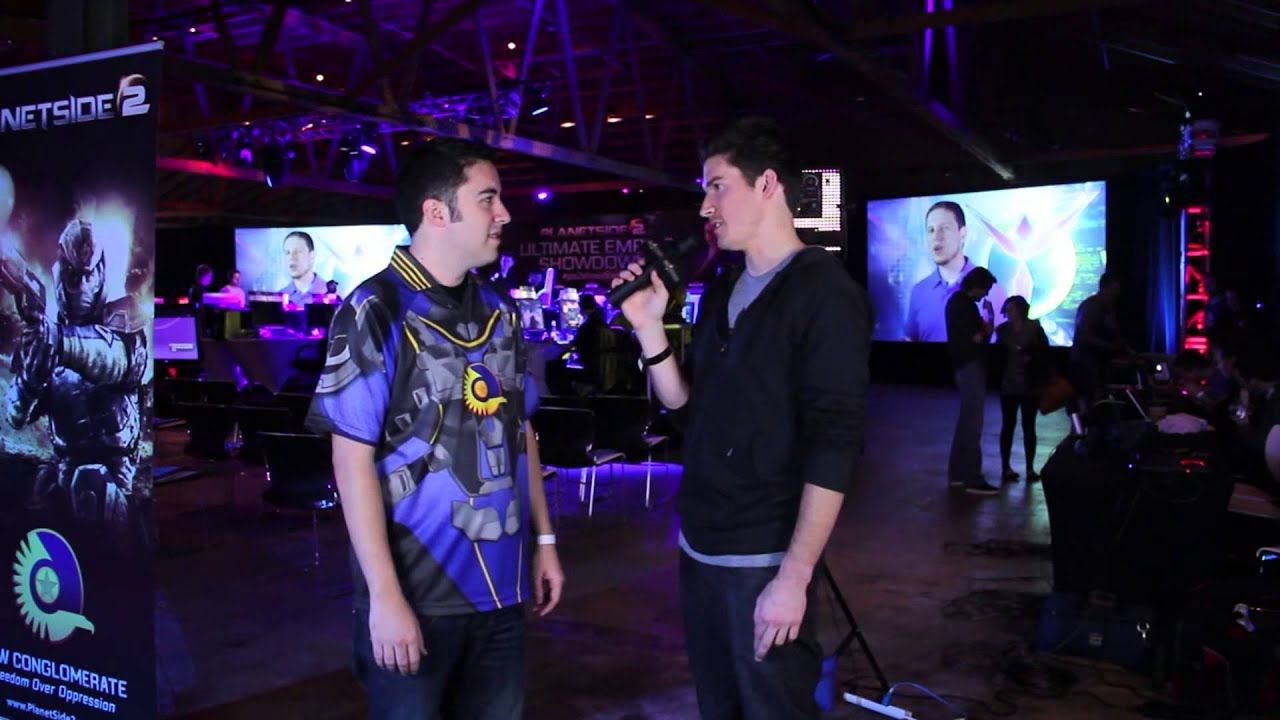 PlanetSide 2 Ultimate Empire Showdown - Adam Clegg Gaming Pre-Game Interview