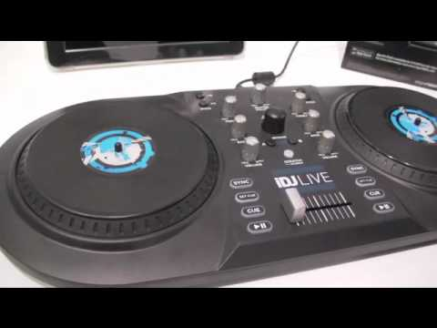 CES 2011 - Ion iDJ Live iPad audio mixing gear