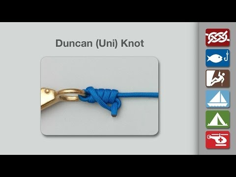 Uni Knot   How to Tie a Uni Knot (Duncan Knot)