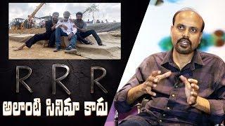 VFX Srinivas Mohan about RRR Movie | Indiaglitz Telugu - IGTELUGU