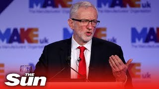 Corbyn on Brexit and Honda Swindon closure (full) - THESUNNEWSPAPER