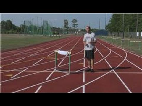 Track Running Tips : Track - How to Jump Hurdles