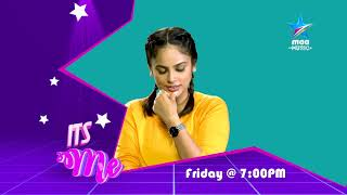 Catch Nandita Swetha in #ItsME this Friday at 7 PM on Star Maa Music - MAAMUSIC