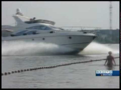 Accident yacht Moscou 2010 by YACHT CLUB.FR