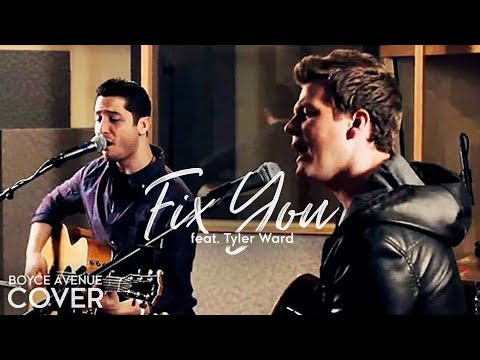 Coldplay - Fix You (Boyce Avenue and Tyler Ward acoustic cover) on iTunes (Glee & Rock in Rio)