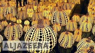 Japan's Yayoi Kusama's holds landmark exhibition in US - ALJAZEERAENGLISH