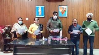 Video:BaddiandNalagarhcitycouncils में नवनिर्वाचित पार्षदों को शपथ ग्रहण दिलाई गई