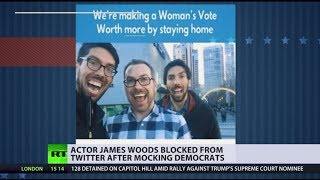 Actor James Woods blocked from Twitter after mocking Democrats - RUSSIATODAY