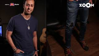 Salim Merchant's look with Blue crew neck tee | Salim's OOTD - ZOOMDEKHO