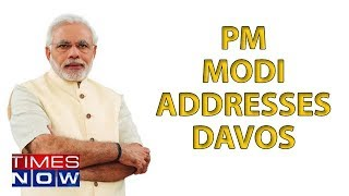 PM Modi's Historic Davos Address,  'Bright Spot' India At A Global Level - TIMESNOWONLINE