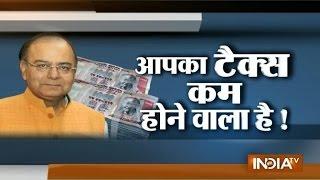 Tax exemption limit may raise further says Arun Jaitley - INDIATV